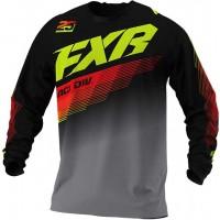 Джърси FXR Clutch MX Black-Gray-Nuke