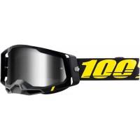 """Очила """"100%"""" Racecraft 2 Arbis сребриста огледална плака"""