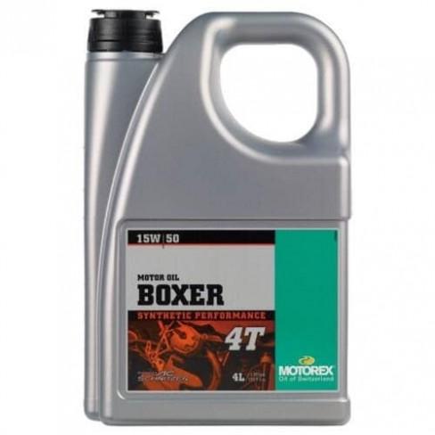 Двигателно масло MOTOREX BOXER 15W50 4T 4L