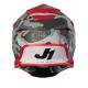 Кросова каска Just1 J39 Kinetic Camo Fluo Black/Grey/Red Matt