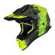 Кросова каска Just1 J38 Mask Fluo Yellow/Black/Green Matt