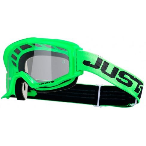 Мотокрос очила Just1 Vitro Green прозрачна плака