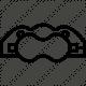 Ремонтен комплект помпа спирачен апарат