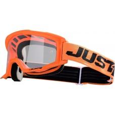 Мотокрос очила Just1 Vitro Orange прозрачна плака