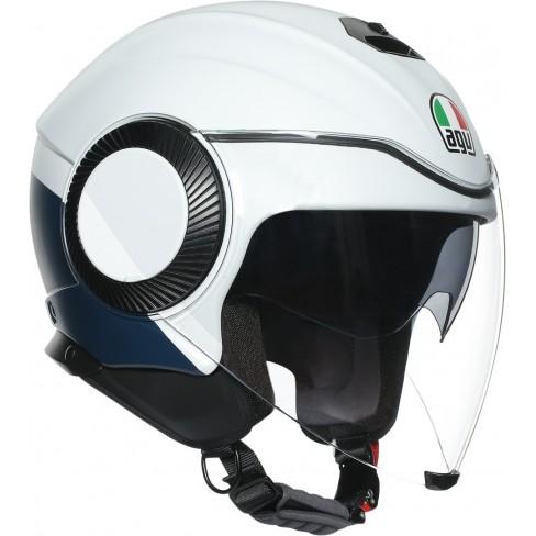 Каска за скутер AGV ORBYT BLOCK MATT LIGHT GRAY